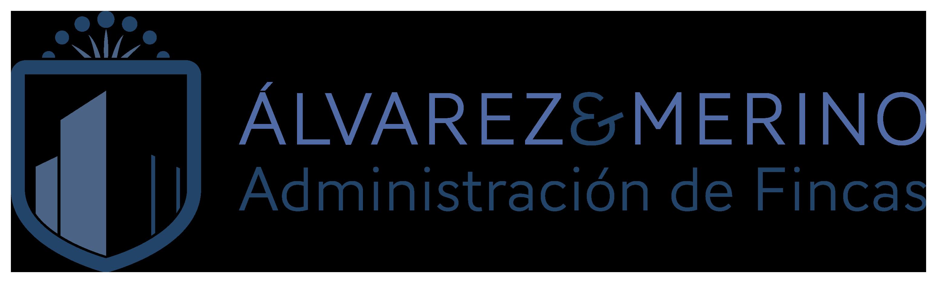 Logo Fincas Álvarez & Merino footer